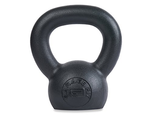 Garage Fit Powder Coated Kettlebells with LB and KG Markings – Strenght Coaching, Functional Health, Plyometrics – DiZiSports Store