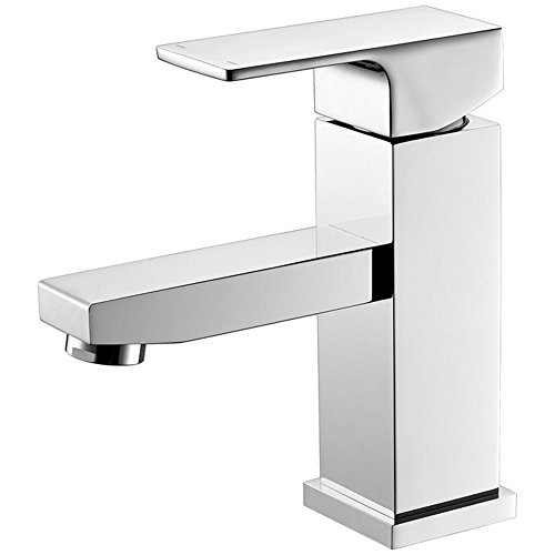 AA Warehousing YPG301 Hole Bathroom Luxurious Single Handle Lavatory Faucet in Chrome Finish