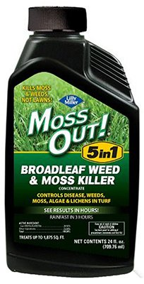 Lilly Miller Moss Out 5-in-1 Broadleaf Weed & Moss Killer Conc 24oz
