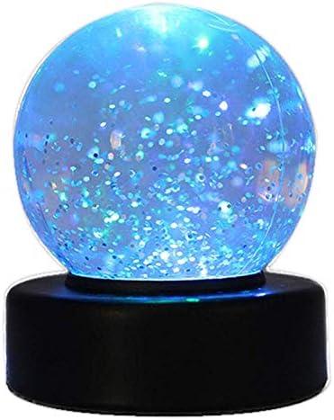 Playlearn swgb Glitter Ball – Bola de nieve con cambio de color LED Humor Luz: Amazon.es: Iluminación