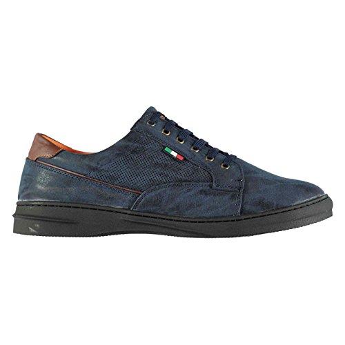 D555 Hommes Darren Chaussures Habillées À Lacets Texturé Bureau Navy hRkDAfGbk
