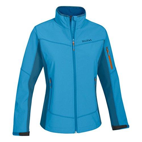 SALEWA Jacke Geisler SW W Jacket - Soft shell para mujer Azul (Opale/8560/6010)