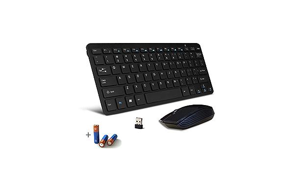 Mini teclado inalámbrico y ratón para SONY BRAVIA SMART TV