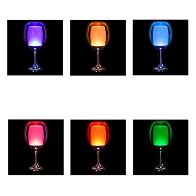 Omerker Modern and Classy RGB Color Changing lamp LED Romantic Mood Night Light for Bedroom,Wedding, Party ,Club Decor ,Dining Room, Table
