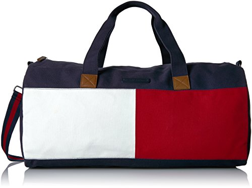Tommy Hilfiger Womens Colorblock Duffle