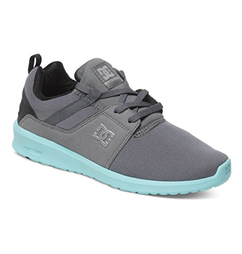 blue Baskets Heathrow Shoes J Grey black Basses Dc Femme Gris zqtfROzwa