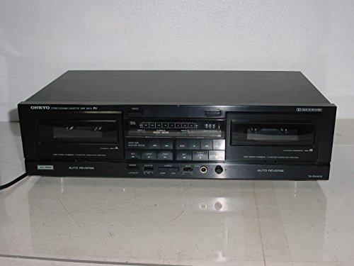 Onkyo TA-RW313 Dual Autoreverse Cassette Player Recorder HX-Pro.