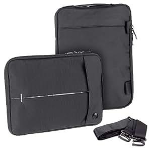 Yayago Travel Case bolso/Business Bolsa Funda en negro para Acer Iconia Tab A200