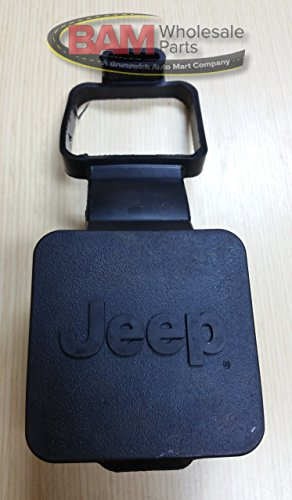 Jeep 2'' Rubber Hitch Receiver Plug (Jeep Hitch Cover)