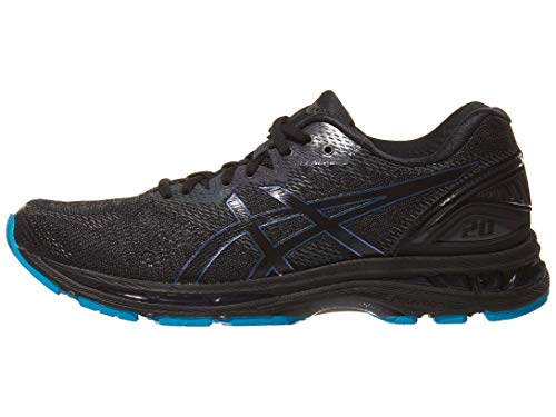 ASICS Mens Gel-Nimbus 20 Lite-Show Running Shoes, Black/Blac