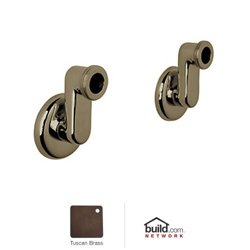 Rohl ZZ9314302V-TCB Zz931430 Cisal Set of Eccentric Wall Unions, Tuscan Brass (Rohl Cisal Eccentric Union)