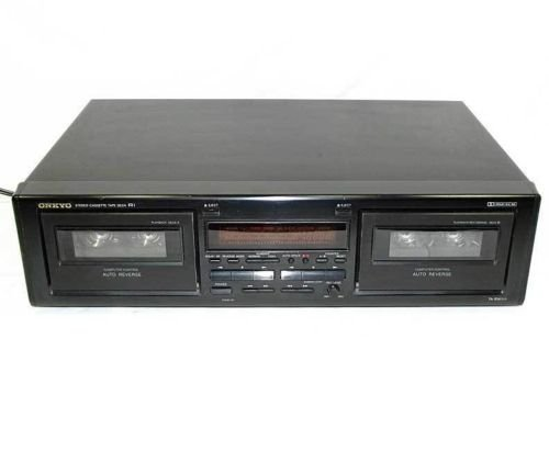 Onkyo TA-RW111 Stereo Cassette Double Deck Tape Deck (Discontinued By Manufacturer)