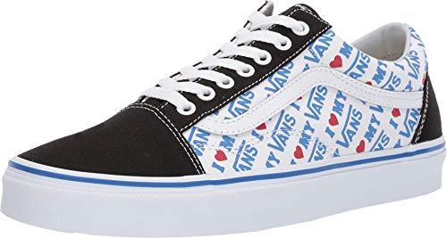 Vans Unisex Old Skool¿ (I Heart Vans) Black/True White 10.5 Women / 9 Men M US ()