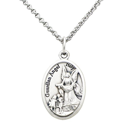 Rosemarie Collections Religious Medal Imported from Italy Pendant Necklace (St Michael-Guardian (St Michael The Archangel Costume Ideas)