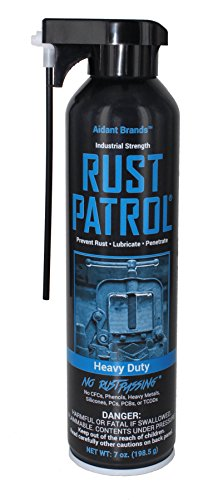 Rust Patrol Heavy Duty: Advanced formula. - Rust Preventer and Lubricant, Industrial Grade, Aerosol 7 oz by Rust Patrol