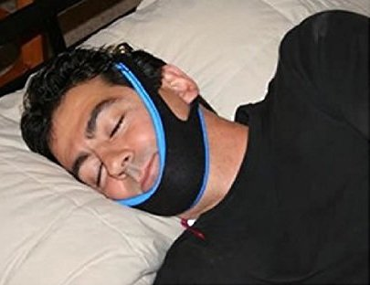 My Snoring Solution Anti Snoring Chin Strap Stop Snoring Jaw Strap Best Night Sleep (Md) by My Snoring Solution