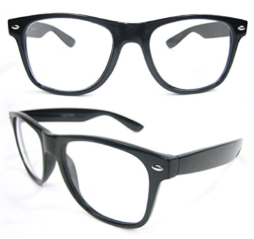 Nerd Glasses (Black)