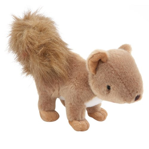 Grriggles Plush Critter Litter Dog Toy, Squirrel, 8-Inch, My Pet Supplies