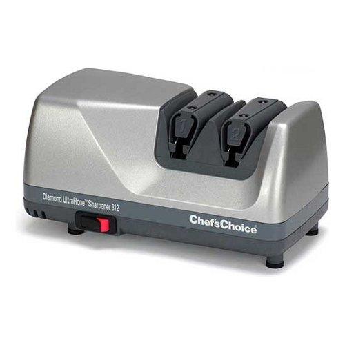 Chef's Choice M312 Diamond Ultra Hone Sharpener - White by Chef's Choice