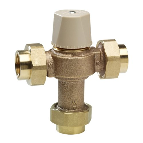 "Watts LFMMVM1-US 1/2"" Lead Free Thermostatic Mixing Valve"