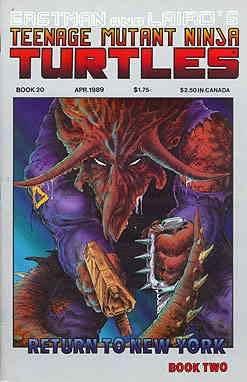 Amazon.com: Teenage Mutant Ninja Turtles (1st Series) #20 VF ...