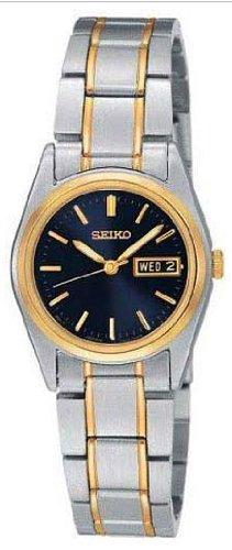 Seiko Women's Functional Two-Tone Stainless Steel Watch SXA120
