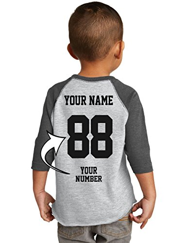 Custom Baseball Jerseys for Toddlers and Kids-Team Uniforms for Birthday Party