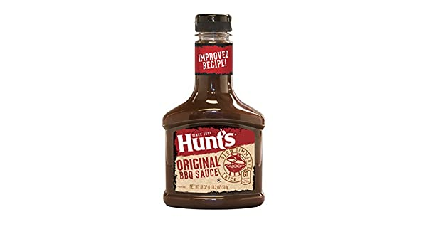 Amazon.com : Hunts Original BBQ Sauce 18 Ounce Bottle : Grocery & Gourmet Food