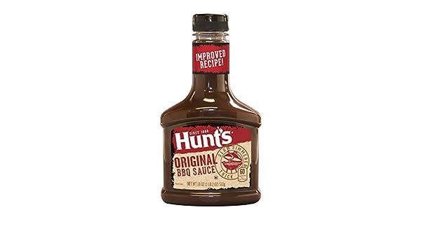 Amazon.com : Hunts Original BBQ Sauce 18 Ounce Bottle : Grocery & Gourmet Food