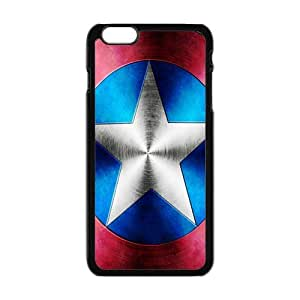 Cool Painting Captain America Phone Case for Iphone 6 Plus