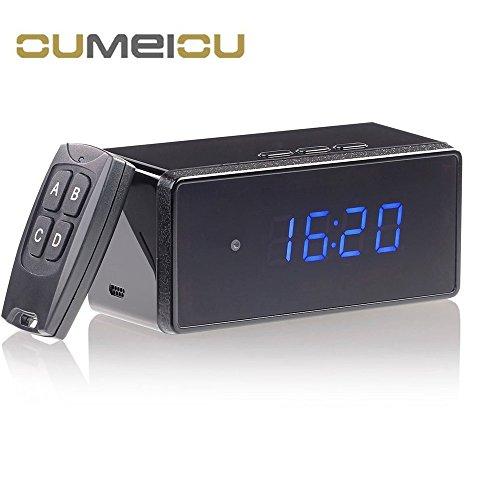 Spy Camcorder Clock - 8