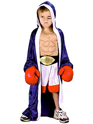 Little Boys' Boxer Costume - S