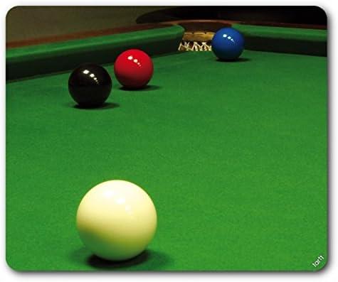 1art1 Billar, Snooker, Situación Libre De La Bola Felpudo Alfombra (70x50 cm) + Alfombrilla para Ratón (23x19 cm) Set Regalo: Amazon.es: Hogar