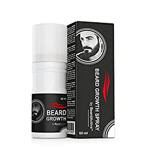 Anti Hair Loss Beard Growth Spray 60ml Beard Grow Stimulator 100% Natural Accelerate Beard Growth Oil Facial Hair Grower : 60ml