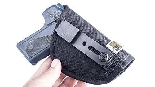 OUTBAGS USA (NCT31-BK-RH) - Nylon IWB Conceal Carry CCW Holster with Comfort Tab Sweat Guard & ULTICLIP. MADE IN USA. Family owned & operated.