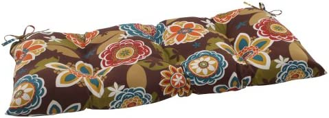 Pillow Perfect Indoor Outdoor Annie Brown Swing Bench Cushion