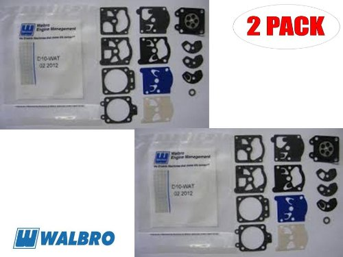 Walbro D10-WAT Gasket&Diaphragm Kit for Stihl 031AV (2 Pack)
