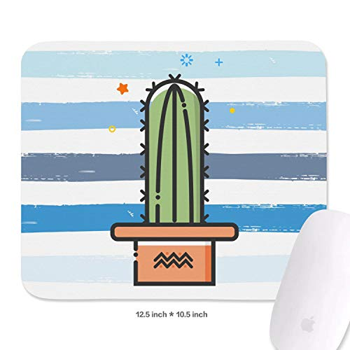 Cactus Green Plant Non-Slip Rubber Mousepad Gaming Mouse Pad for Office Lightweight Fashion Printing Mouse Pads