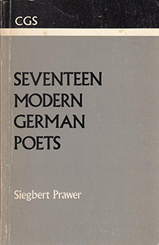 Seventeen Modern German Poets (Clarendon German Series)