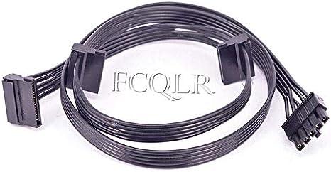 Fcqlr 5 Pin To 3 Sata Power Supply Kabel Für Cooler Computer Zubehör
