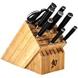 Shun DMS1020 Classic 10-Piece Chef's Block Knife Set
