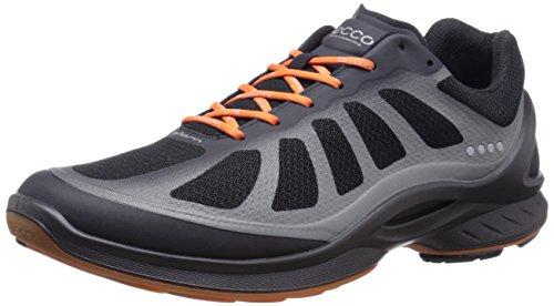 ECCO Biom Fjuel Men's, Men's Multisport Outdoor Shoes Black/Black/Orange (Black/Black/Orange50987)