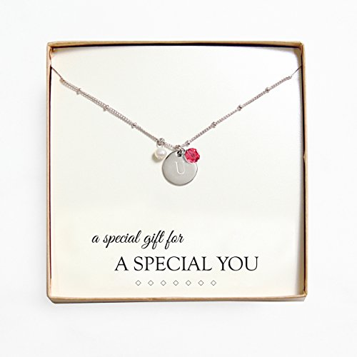Cathys Concepts Personalized Necklace Monogrammed