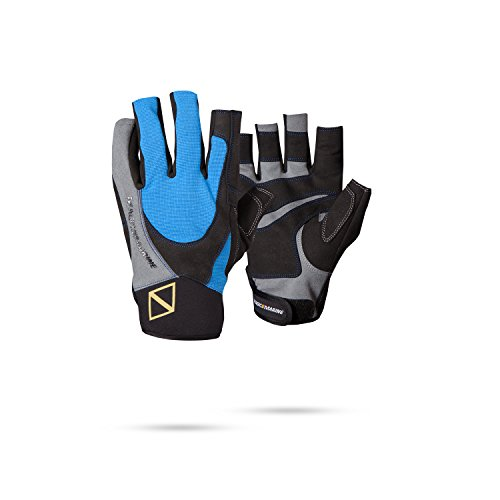 Magic Marine Ultimate Short Finger Sailing Gloves 2017 - Blue
