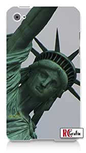 New York City Statue of Liberty Apple ipod 5 Ipod 5g Quality Hard Case Snap On Skin for ipod Gen 5 and 5, 5G (WHITE CASE)