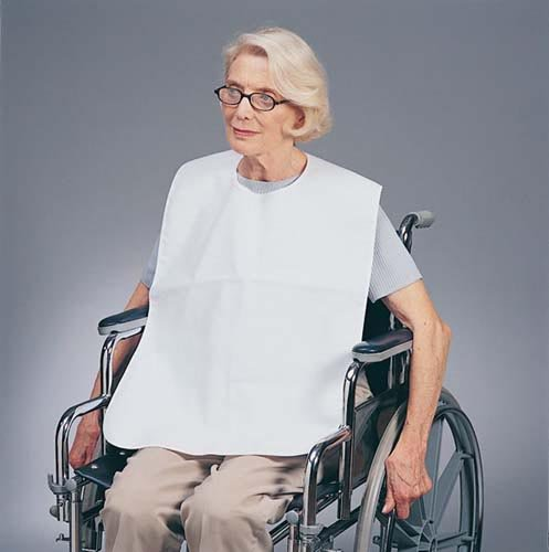 SPECIAL PACK OF 3-Barrier Bib Without Pocket by Marble Medical
