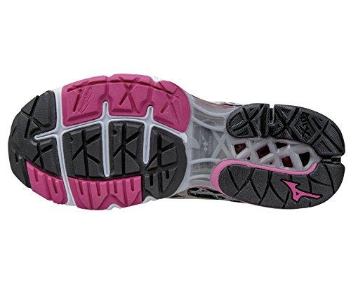 Mizuno SS15 Creation Black Shoes Women's 16 Wave Running wz7wf