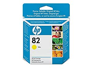 HP - Hewlett Packard DesignJet 800 (82 / CH 568 A) - original - Inkcartridge yellow - 28ml