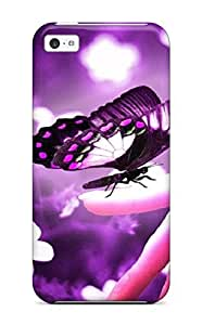 ZippyDoritEduard Iphone 5/5s Hybrid Tpu Case Cover Silicon Bumper Butterfly
