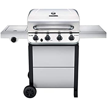 Amazon.com: 4-Burner Propane Gas Grill in Stainless Steel ...